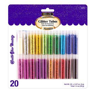 RoomFactory 2 g Glitter Tubes - 20 per Pack