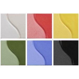 Sax 2003169 6 Pint True Flow Underglaze Set, Assorted Color