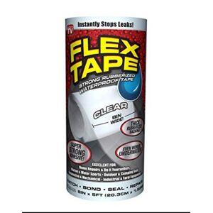 SWIFT RESPONSE 240243 12 in. x 10 ft. Clear Flex Tape