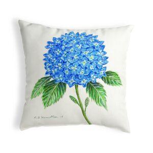 Betsy Drake KS988 12 x 12 in. Dicks Hydrangea Small No-Cord Pillow