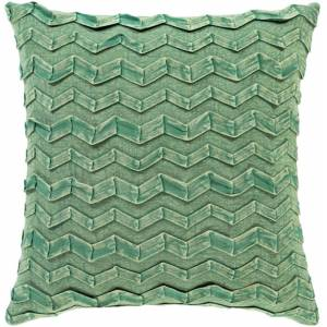 Surya CPR001-2020 20 x 20 in. Caprio Woven Pillow Cover, Dark Green