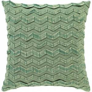 Surya CPR001-2020P 20 x 20 in. Caprio Woven Pillow Kit - Dark Green