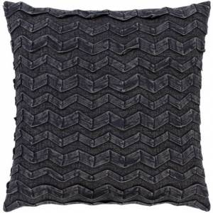 Surya CPR004-2020P 20 x 20 in. Caprio Woven Pillow Kit - Black