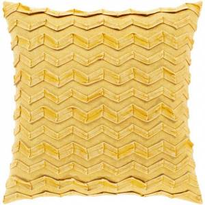 Surya CPR005-2020P 20 x 20 in. Caprio Woven Pillow Kit - Saffron