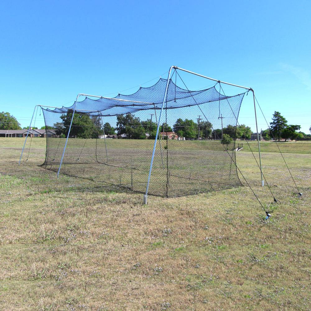 Cimarron Sports CMW-60Rookie 60 x 12 x 10 ft. No.24 Rookie Batting Cage & Cable Frame