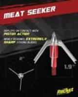 ESCALADE SPORTS AR100MS Rocket Broadheads Meat Seeker Crossbow - 100 Grain - Pack of 3
