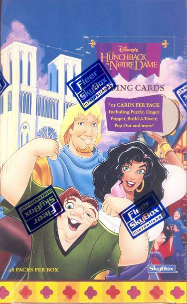 Athlon Sports CTBL-027850 Hunchback Of Notre Dame Disney 1996 Skybox Factory Sealed Unopened Trading Card Box - Packs of 48