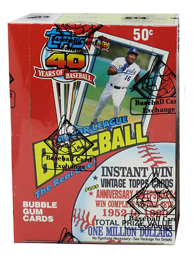 Schwartz Sports Memorabilia BX191TWE1 1991 Topps Wax Box BBCE Wrapped From A Sealed Case FASC Unopened Baseball Card - Pack of 36