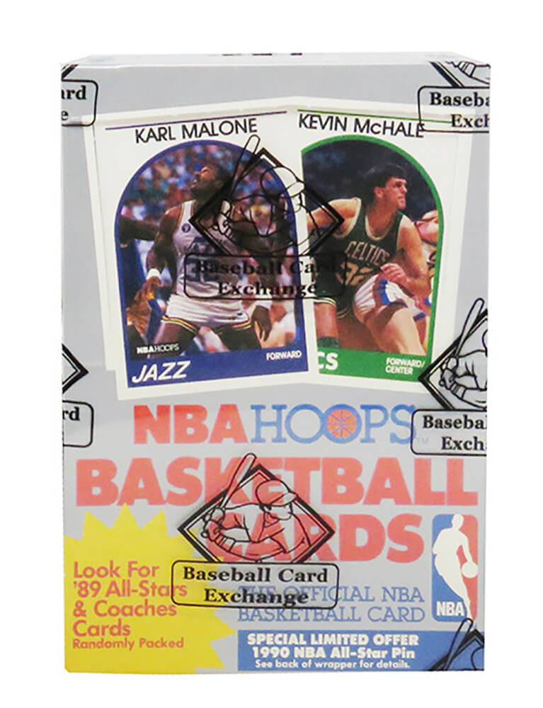 Schwartz Sports Memorabilia BX289HWE1 1989 Hoops Series 1 Box BBCE Wrapped From A Sealed Case FASC Baseball Card - Pack of 36