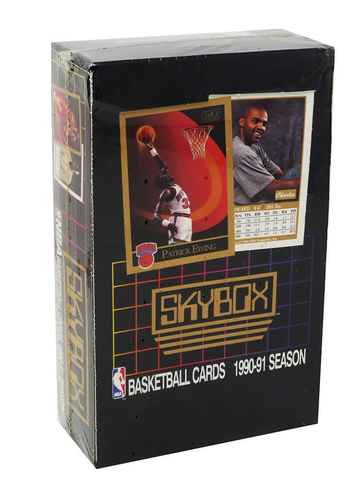 Schwartz Sports Memorabilia BX290SWF1 1990-1991 Skybox Series 1 Factory Sealed Unopened Box Baseball Card - Pack of 36