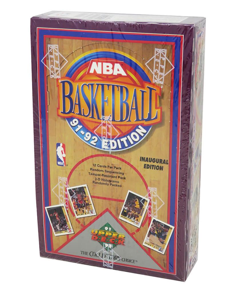 Schwartz Sports Memorabilia BX291UWF1 1991-1992 Upper Deck Inaugural Edition Factory Sealed Low Series Box Baseball Card - Pack of 36