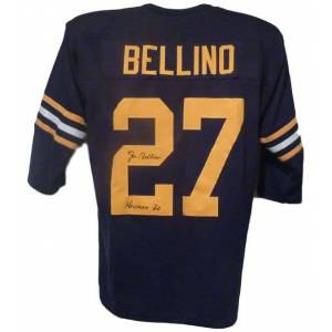 Denver 10474 Navy Midshipmen with Heisman 60 Joe Bellino Autographed Jersey