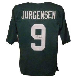 Denver 11917 Philadelphia Eagles with HOF 83 Sonny Jurgensen Autographed Jersey