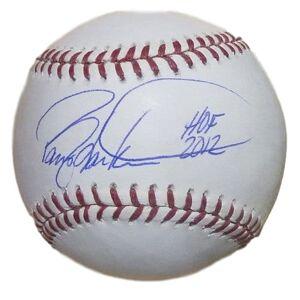 Denver 12070 OML Cincinnati Reds with HOF 2012 JSA Barry Larkin Autographed Baseball
