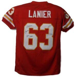 Denver 10071 Kansas City Chiefs HOF JSA Willie Lanier Autographed Jersey