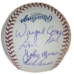 Denver 13182 OML 1969 Seattle Pilots Autographed Baseball