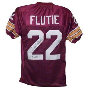 Denver 11288 Doug Flutie Autographed Boston College Eagles Jersey, Extra Large