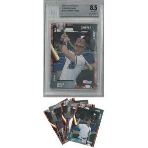 Athlon Sports CTBL-025985 Chipper Jones Durham Bulls 1992 Fleer ProCards Card No.1108 BGS Beckett Graded 8.5 NM-MT Plus with Set - 28 Cards