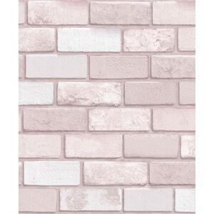Arthouse 260005 Diamond Brick Wallpaper, Pink