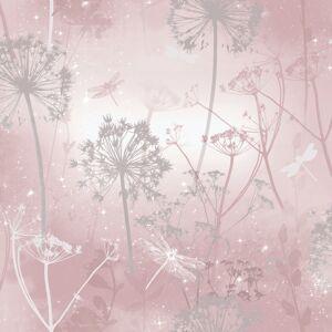 Arthouse 692305 Damselfly Wallpaper, Blush