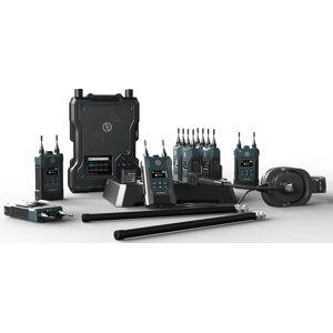 Hollyland HL-SOLIDCOMM1-8B 1.9GHz 200Hz to 7KHz Full Duplex Wireless Intercom System with 8 Beltpacks