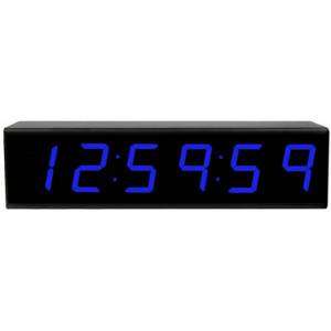 ESE -ES943UNTPCBL Time Code Remote Display with NTP-C Option & LED Display, Blue