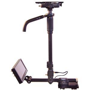 Steadicam TIF-A-HDVLNN Tiffen & A-HDVLNN Aero Camera Stabilizer Sled with V-Mount Sled & 7 in. 3G-HD, HDMI Monitor