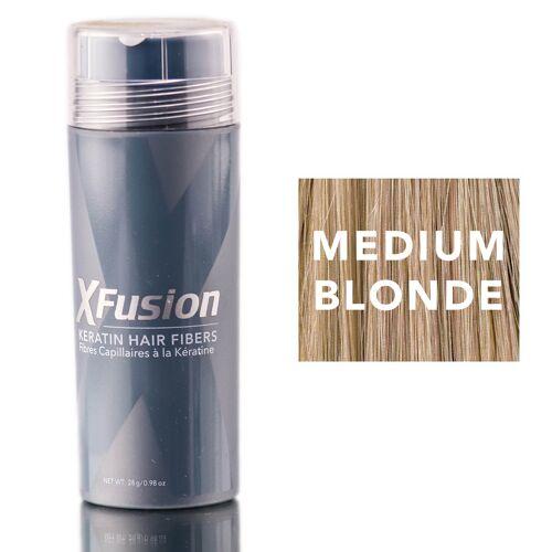 X fusion X-Fusion 217848 0.98 oz Keratin Hair Fibers, Medium Blonde