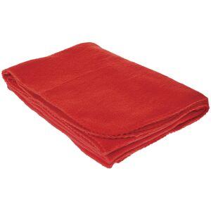 """DDI 2330824 TrailWorthy Fleece Blanket & Storage Bag 45"""" x 60"""" - Red Case of 20"""