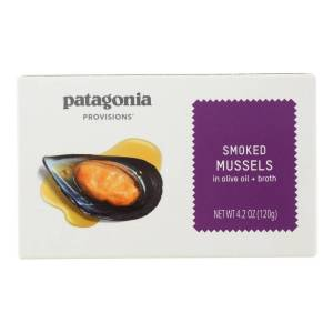 PATAGONIA HG2474666 4.2 oz Mussels Smoked Snack - Case of 10