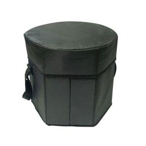 Sea Foam Company Buy Smart Depot G7370 Black Folding Portable Game Cooler Seat - Black