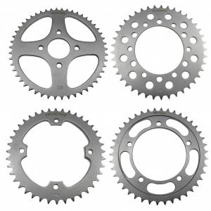 Go-for-Gold Rear Sprocket Steel - 36T For Kawasaki ZX550