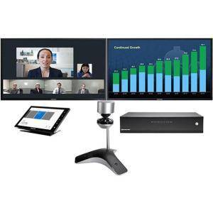 Polycom 7200-65600-001 30 fps CX8000 with Front of Room Camera Video Conference Equipment for Microsoft Lync 2013