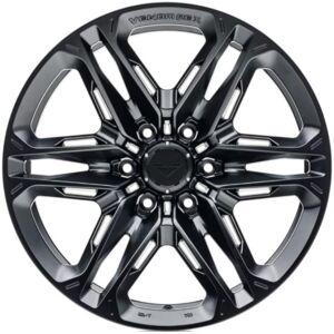 Vorsteiner VR604.20090.6139.0C.106.MB 6x139.7 mm Venom Rex 604 20x9 0C 5.75 BS & 106.1 CB Wheel, Mystic Black