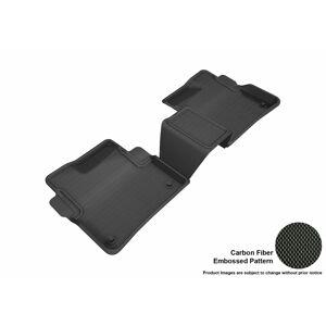3D MAXpider L1CD01721509 Kagu R2 Floor Mat for 2016-2018 Cadillac CT6, Black