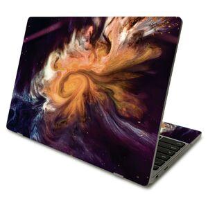 MightySkins SACHBO411-Swirl Galaxy Skin Compatible with Samsung Chromebook 4 2021 11.6 in. - Swirl Galaxy