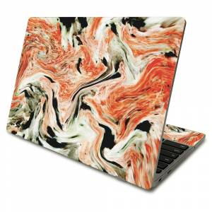 MightySkins SACHBO411-Marble Madness Skin Compatible with Samsung Chromebook 4 2021 11.6 in. - Marble Madness