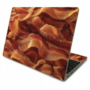 MightySkins SACHBO411-Bacon Skin Compatible with Samsung Chromebook 4 2021 11.6 in. - Bacon