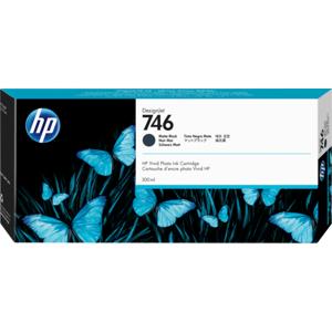 HP P2V83A 300 ml 746 Matte Black DesignJet Ink Cartridge