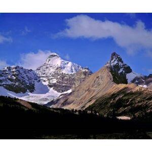 Posterazzi PDDCN01RER0025 Alberta Mt Saskatchewan Banff Np Poster Print by Ric Ergenbright - 26 x 22 in.