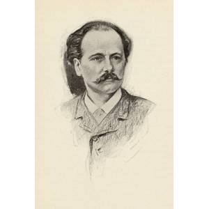 Posterazzi Jules Fr-d-ric Massenet 1842-1912 French Composer Portrait by Chase Emerson American Artist 1874-1922 Poster Print, Large - 24 x 36