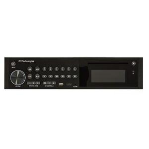 Patrick Industries PAT-101809 iRV Technologies AM & FM Radio with Bluetooth Functionality - Black