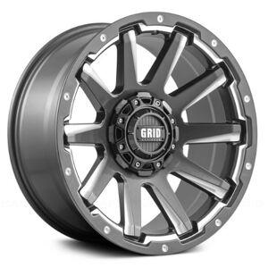 GRID WHEELS 52955G11 20 x 9.0 in. 5 x 150 in. Bolt Pattern 12 Offset 110.3 mm Hub Wheel