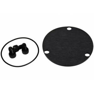 Track USA 2.5 in. GN Dust Cap Kit with O-Ring & Screws, Black