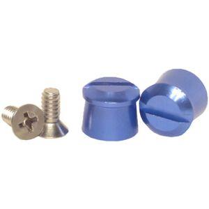 PULSE RACING INNOVATIONS PULATP001BL Aluminum Tear Off Posts, Blue