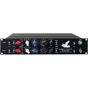 Thermionic Culture THER-SNOW-PETREL 2U 19 in. Extra Gain 2-Channel Mic Amp & Preamp - Optimized For Ribbon Mics