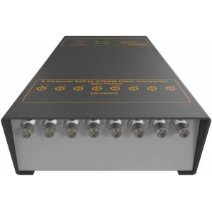 Matrix Switch MSC-FC8BW-8 8 Channel 3G-SDI BNC to CWDM Fiber Converter
