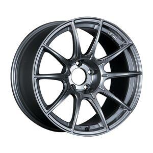 SuperJock XA18105 Plus 2205GDK GTX01 18 x 10.5 5 x 114.3 22 mm Offset Dark Silver Wheel G35-350Z-370Z