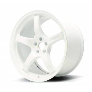 Gram WGCRQ38DCPP 57CR 17 x 9 Plus 38 Offset 5 x 100 Bolt Paatern Ceramic White Pearl Wheel