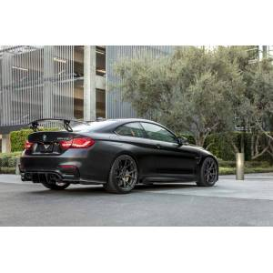 Vorsteiner 4230BMV Carbon Fiber PP 2X2 Glossy Aero Side Skirts for BMW F8X M4 VRS GTS-V